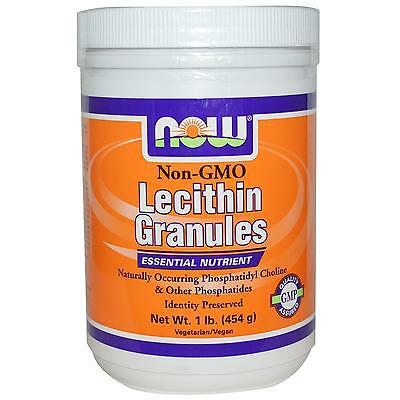 Lecithin Granules - Non GMO - 454g by Now Foods - Essential Nutrients