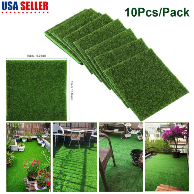 16 X 32 In Landscape Fake Grass Artificial Pet Turf Lawn Synthetic Mat Rug Green For Sale Online Ebay