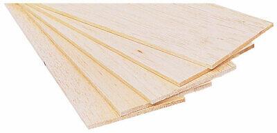 Crafts Arts 12.5mm Thick Balsa Wood Sheets Models Architect Various Lengths