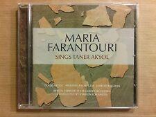 CD / MARIA FARANTOURI SINGS TANER AKYOL  / NEUF SOUS CELLO