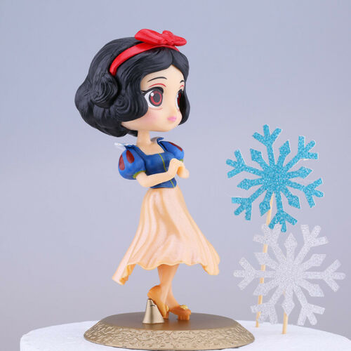 Princess Snow White Alice Mermaid Ariel Elsa Anna DIY Cake Topper Decoration