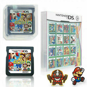 482-in-1-Game-Card-Cartridge-Multicart-for-Nintendo-DS-Lite-NDSi-3DS-2DSXL-Mario