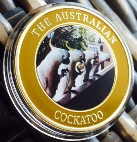 The Australian Cockatoo Collectable Coin Limited Edition Finished In 24k Gold
