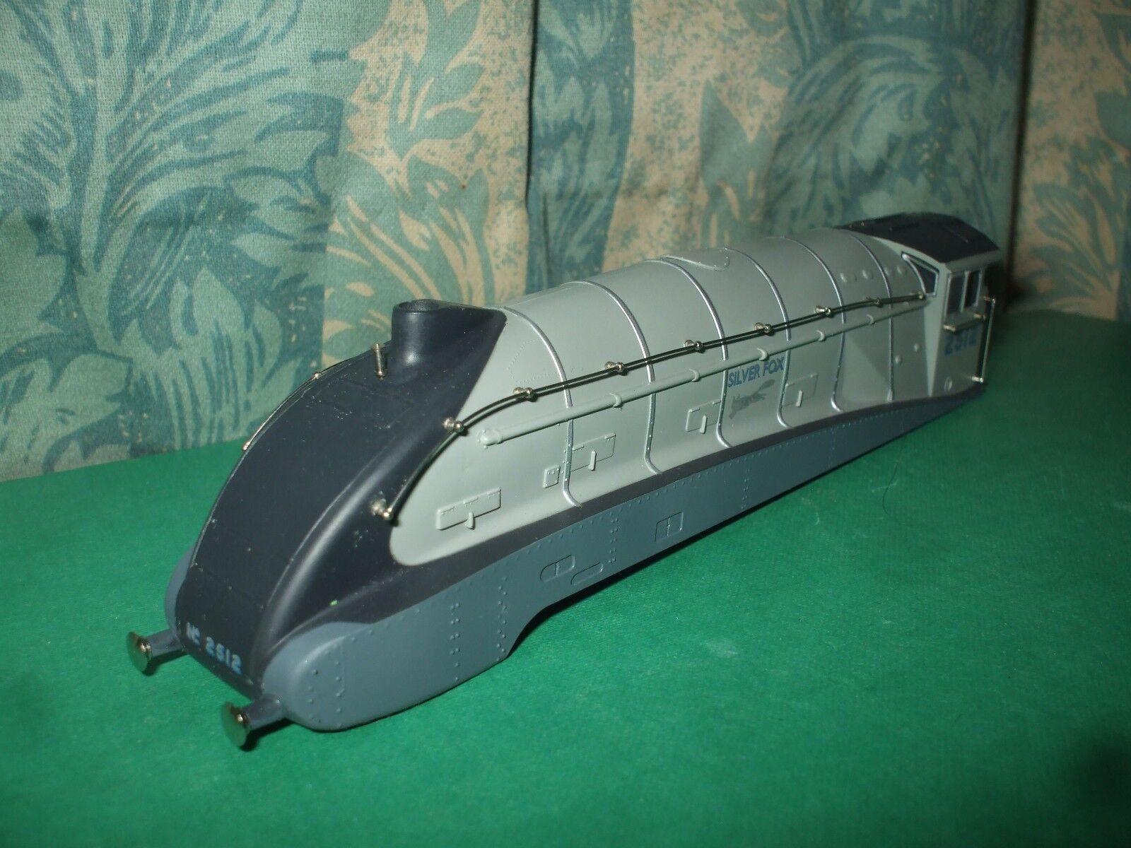 BACHuomoN LNER A4 classe argento LOCO corpo ONLY  argento FOX