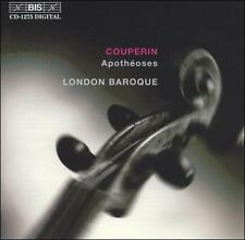 FRANCOIS COUPERIN / LONDON BAROQUE Apotheoses CD BIS INGRID SEIFERT WILLIAM HUNT