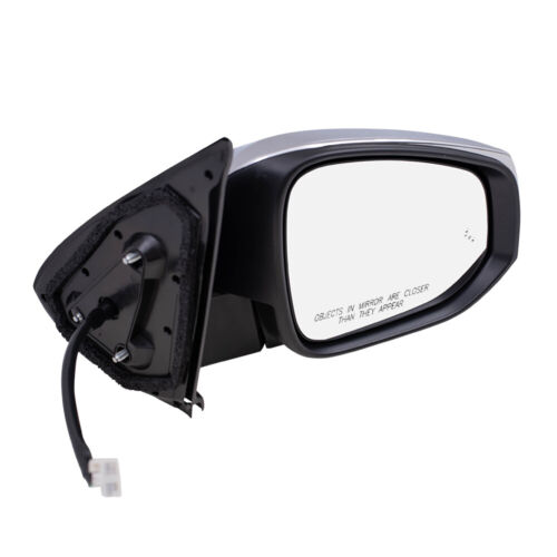 Power Mirror fits 16-20 Tacoma Passenger Heat Chrome Signal Blind Spot Detection