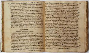 Original Handschrift um 1800