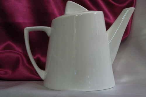 Kaffeekanne Teekanne Kanne Serie Fan-tastic weiß Porzellan Bauhausstil 0,75L