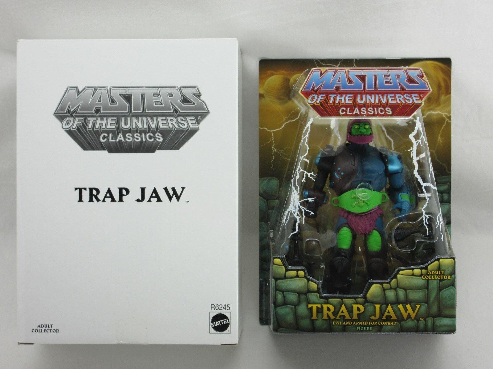 MOTUC,MOTU,TRAP JAW,MASTERS OF UNIVERSE CLASSICS,Sealed,MOC,He-Man