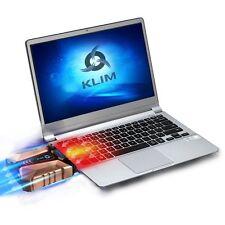 KLIM Cool + Laptop cooler Laptop in metal - The most powerful - Air vacum USB -