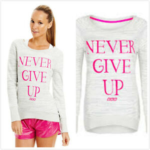Brand-New-Genuine-Lorna-Jane-Top-Iconic-Never-Give-Up-Sweater-Jumper-RRP-95-99