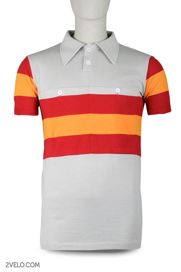 Spain Campeón-nacional Vintage de Lana Jersey, Nueva, maillot, maglia