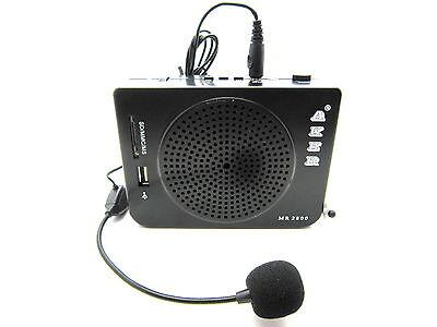 AKER MR2800 16W Waistband Portable PA Voice Amplifier Booster For Teacher Coach