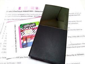 Alcatel Y800 Débloqué 4 G 3 G Mobile Wifi Wireless Broadband Modem Wifi-afficher Le Titre D'origine Ireso61c-07181021-672890098