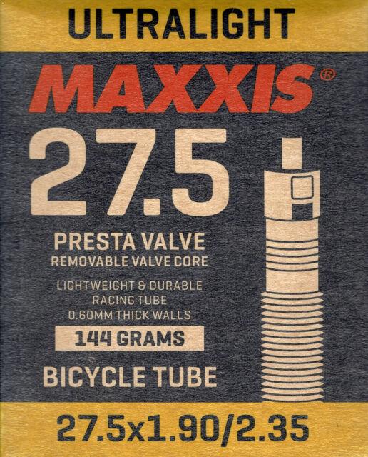 Fahrradschlauch von Maxxis UltraLight 27.5x1.90-2.35 Presta//FV