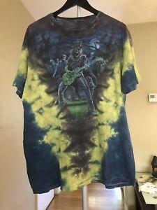 Lead Guitarist Shirt Probably XL Multicolor No Tag