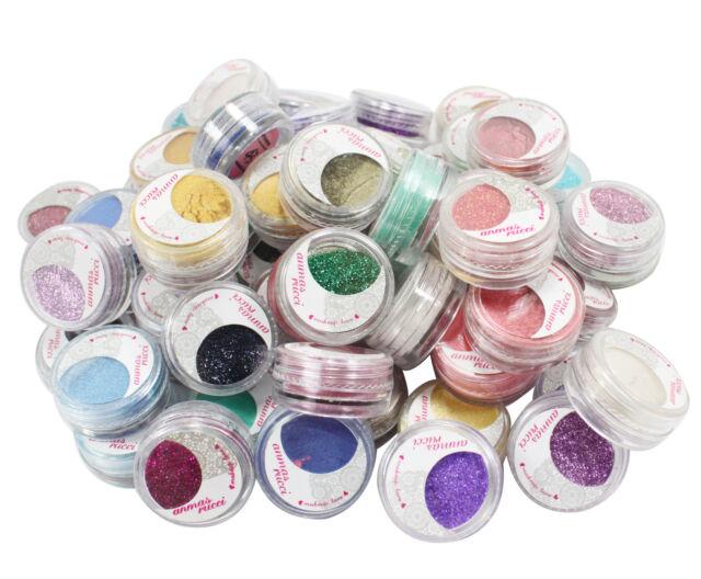 70 Ps Mixed Color Makeup Powder Glitter Sheet Eyeshadow Cosmetics Eye Shadow Set