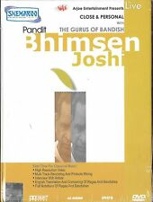 PANDIT BHIMSEN JOSHI (THE GURUS OF BANDISH ) LIVE NEW BOLLYWOOD DVD