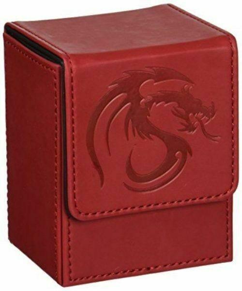 1 CLASSIC BCW BLACK LX DECK CASE LEATHERETTE MTG DECK PROTECTOR BOX