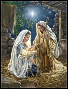 Charts-Needlework-DIY-Counted-Cross-Stitch-Patterns-The-Nativity-2