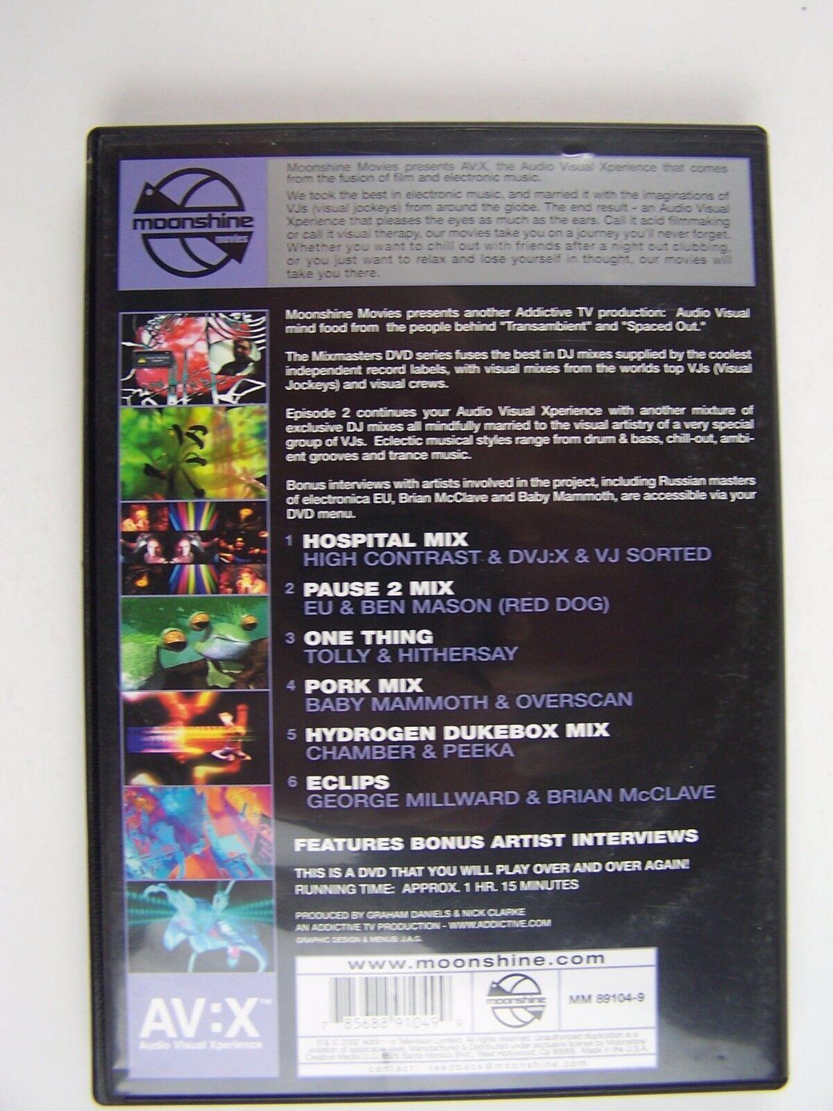 Moonshine Movies Presents AV:X.04 - Mixmasters Episode