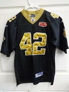 Vintage NFL New Orleans Saints Darren Sharper # 42 Sewn #'s Jersey ...