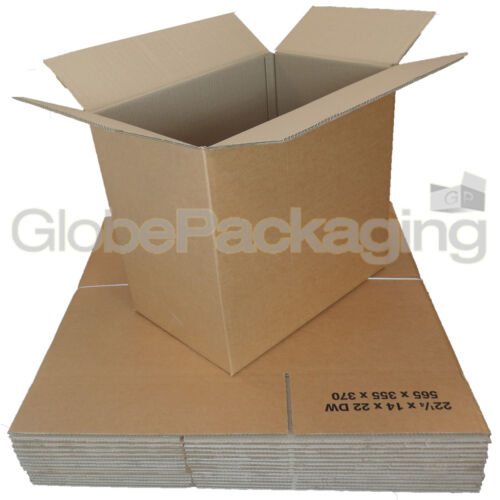 30 x STRONG D//W Removal Stock Cartons Boxes 22x14x22/""