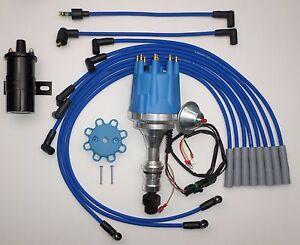 small cap oldsmobile 350,400,403,455 blue hei distributor blackimage is loading small cap oldsmobile 350 400 403 455 blue