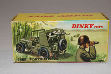 1960's French Dinky #828 Rocket Carrier Jeep Original Box