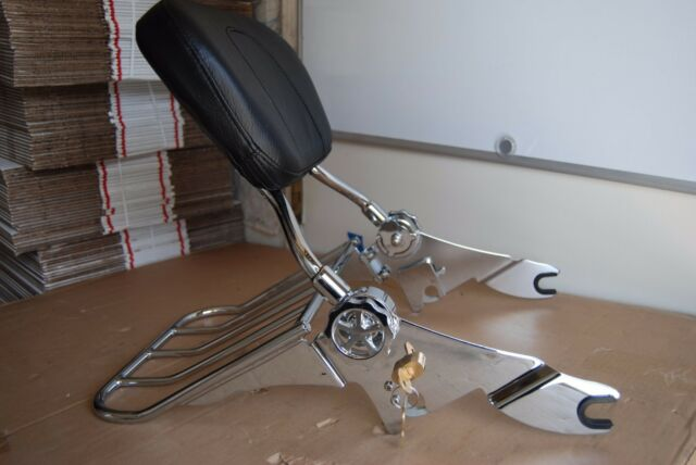 New Detachable Backrest Sissy Bar with Lock for Harley Davidson Touring 09UP