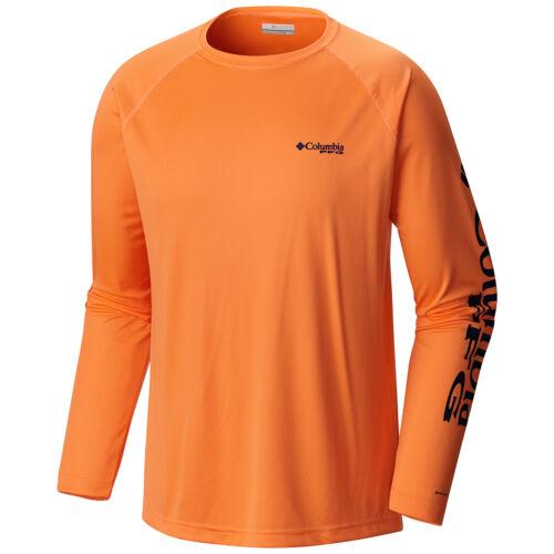 "Wick T-Shirt Top Tee Polo New Mens Columbia PFG /""Terminal Tackle/"" Omni-Shade"