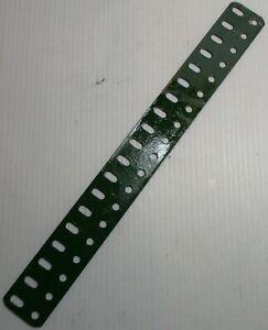 Meccano-103-Flat-Girder-19-Hole-Mid-Green-Original-Used-Few-Marks-1st