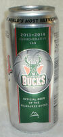 2013 - 2014 Milwaukee Bucks Coors Light Limited Edition Commemorative Can