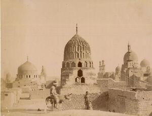 Photo-Zangaki-Albumine-Egypte-Le-Caire-Vers-1875-80