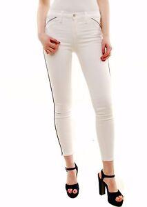 Nouveau blanc J 26 passepoils taille pour 209 skinny femmes jean Brand Rrp Bcf72 à 849c028 aaqrTZxw