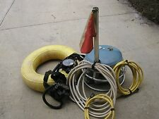 Evinrude Aquanaut or Johnson Air-Buoy- copies of all manuals NOT THE UNIT IN PIC