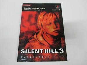 PS2 archivo de navegación -- Silent Hill 3 -- Japón Juego de libro. 40870