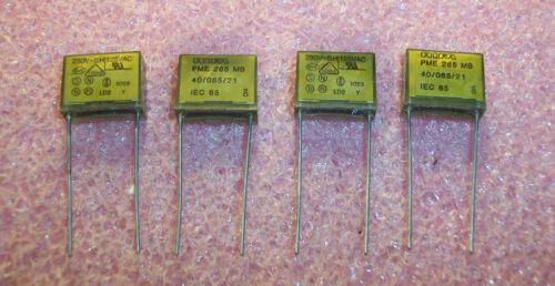 QTY 50 .022uf 250Vac Y2 SUPPRESSION METALLIZED PAPER CAPACITORS PME265MB522M