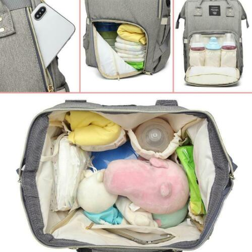 LEQUEEN Multi-use Large Mummy Baby Diaper Nappy Backpack Mom Changing Travel Bag