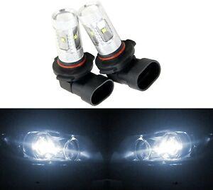 LED 30W 9006 HB4 White 6000K Two Bulbs Fog Light Lamp Plug Play Replace OE