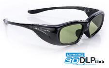 3D Brille Hi-SHOCK® DLP Pro 6G Black Space für Beamer von Benq, Optoma JmGO G1
