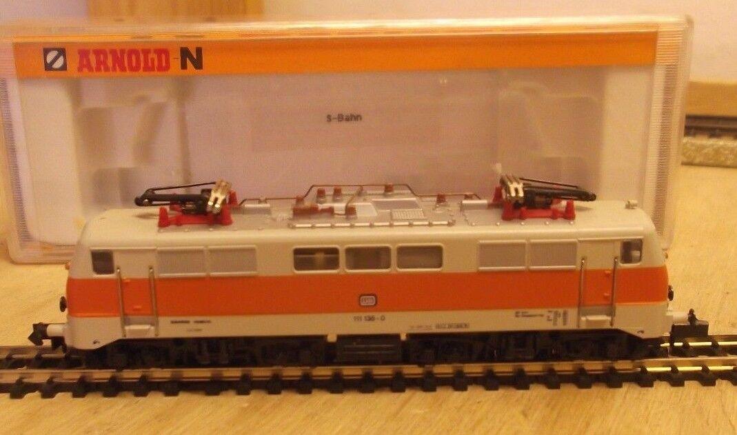 Arnold N 2327 E Lok S-BAHN Btrnr 111 125-0 de DB Probado en Embalaje Original