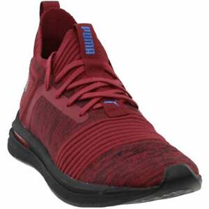 Puma-Ignite-Limitless-Street-Runner-Evoknit-Casual-Sneakers-Red-Mens-Size