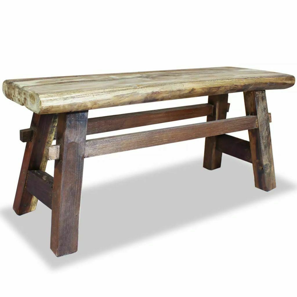 Enjoyable Details About New Bench 39 4 Solid Reclaimed Wood Rustic Seat Entryway Hallway Seating Andrewgaddart Wooden Chair Designs For Living Room Andrewgaddartcom