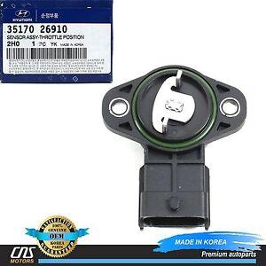 Details about GENUINE Throttle Position Sensor TPS Fits 2007-2012 Elantra  Soul OEM 3517026910