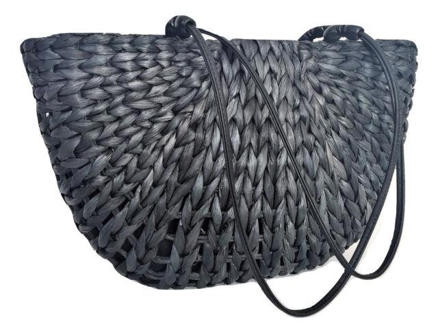 Unique Handmade Straw Shoulder Bag