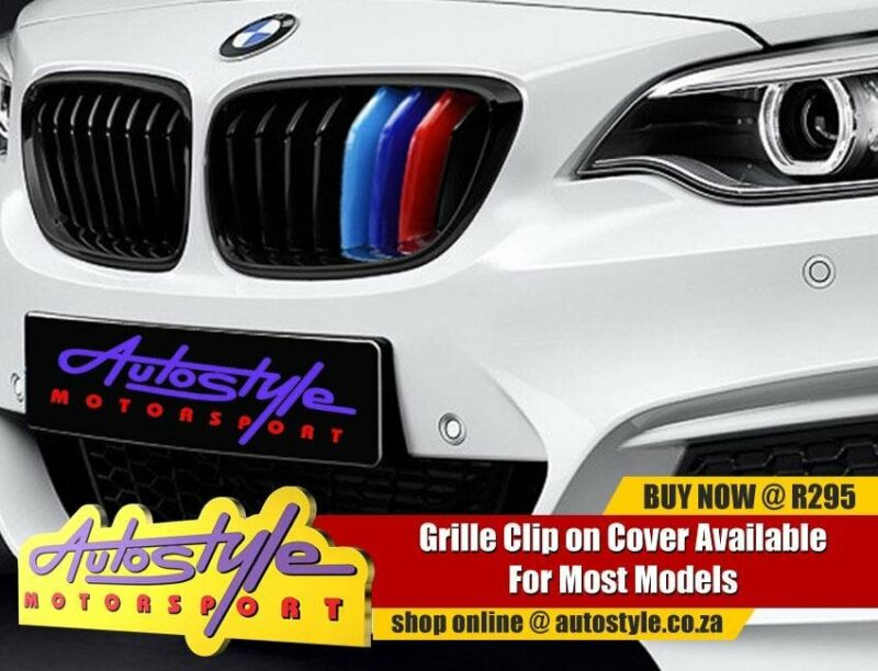 Suitable to fit BMW M3 etc kidney grille covers, 3 colors, non genuine. available to fit most models