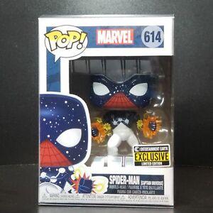 Funko-Pop-Marvel-Spider-Man-Captain-Universe-Vinyl-Figure-EE-Exclusive-Mint-Box