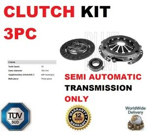 Details about FOR CITROEN C1 PEUGEOT 107 TOYOTA AYGO YARIS 1 0 SEMI  AUTOMATIC 3PC CLUTCH KIT
