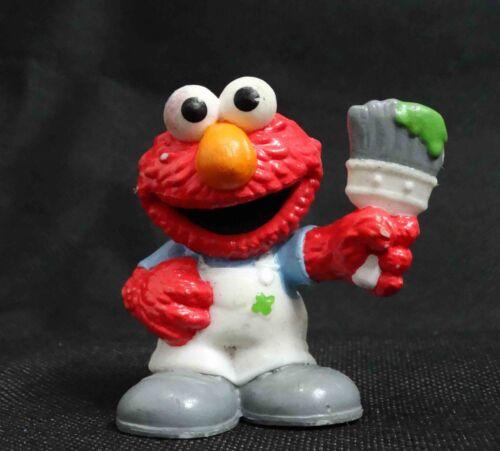 Hasbro Playskool Sesame Street AT WORK ELMO Figures old #gfy3